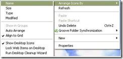 จัดเรียง icon หน้า desktop ซ่อมคอมฯสมุย1